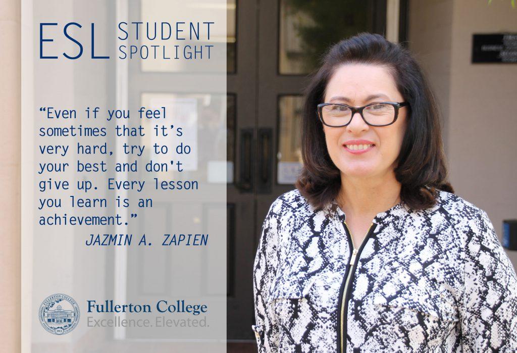 Jazmin Zapien - ESL Student Spotlight