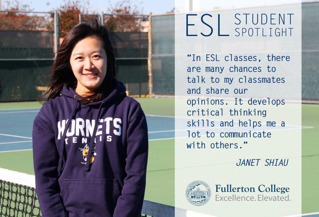 ESL Spotlight - Janet Shiau